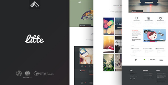 Litte - Multipurpose WordPress Theme - Portfolio Creative