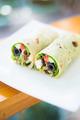 vegetarian feta cheese and salad wrap - PhotoDune Item for Sale