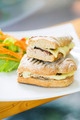 vegetarian tuna and cheese toasted baguette sandwich - PhotoDune Item for Sale