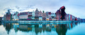Panorama of Gdansk old town and Motlawa river, Poland - PhotoDune Item for Sale