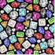 Gemstone Pattern - GraphicRiver Item for Sale