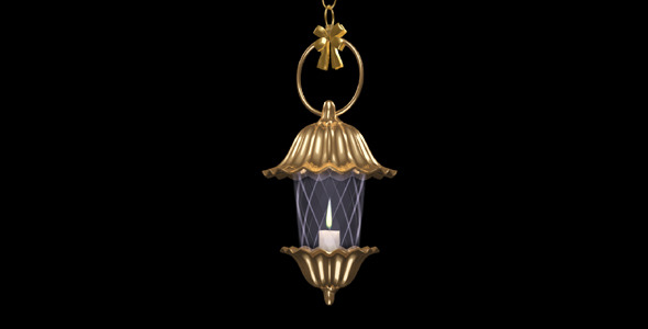 Fantasy Lantern Golden Flower