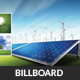 Green Energy Billboard Banner Template - GraphicRiver Item for Sale
