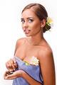 female during luxurious procedure of massage - PhotoDune Item for Sale