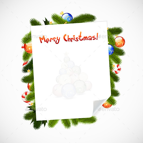GraphicRiver Merry Christmas Greeting Card 9522392