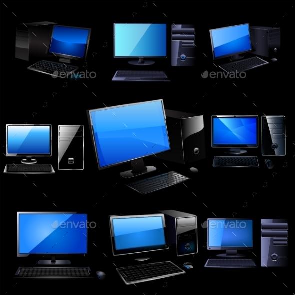 GraphicRiver PC Elements 9522464