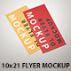 DL Flyer Mockup - GraphicRiver Item for Sale