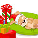 Christmas Puppy - GraphicRiver Item for Sale