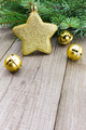 Christmas jingle bells with golden star - PhotoDune Item for Sale