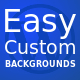 Easy Custom Backgrounds for WordPress - CodeCanyon Item for Sale
