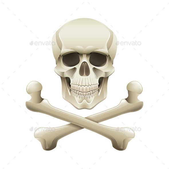 GraphicRiver Skull and Crossbones 9523344