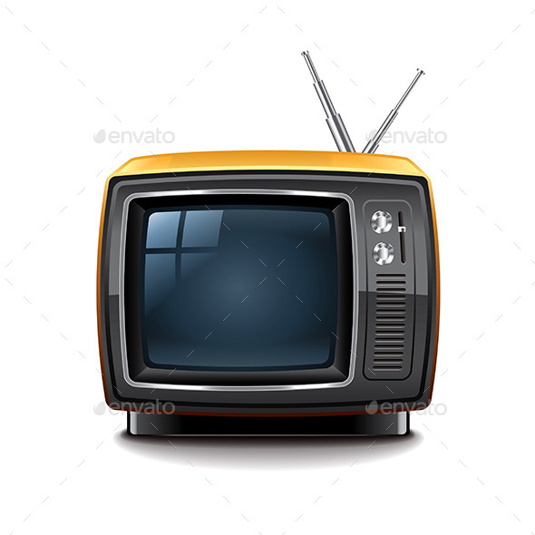 GraphicRiver Retro TV 9523348