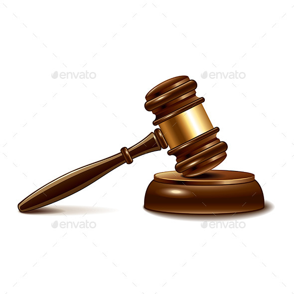 GraphicRiver Judge Gavel 9523354