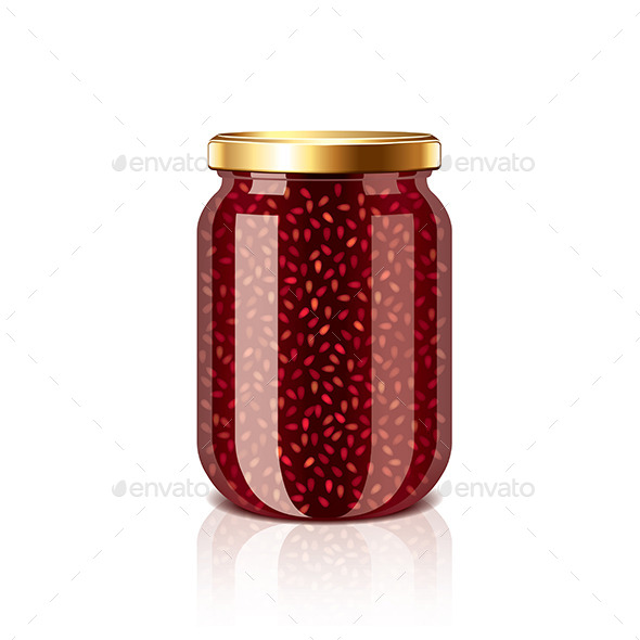 GraphicRiver Jam Jar 9523359
