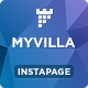 MyVilla - Real Estate Instapage Template - ThemeForest Item for Sale