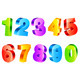 Colorful Numbers - GraphicRiver Item for Sale