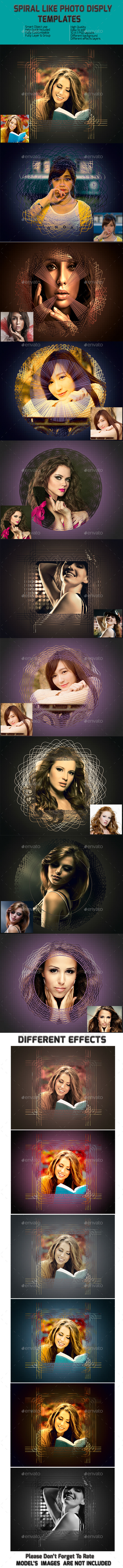 GraphicRiver Spiral Like Frame Templates 9524162