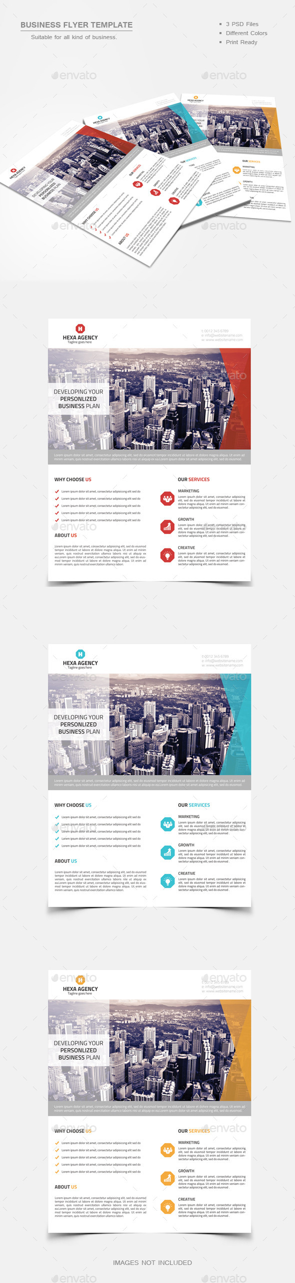GraphicRiver Business Flyer 02 9491246