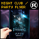 Christmas Electro Night Flyer - GraphicRiver Item for Sale