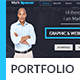 Business Portfolio & Resume Muse Template