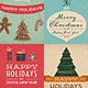 10 Retro Christmas Cards/Backgrounds - GraphicRiver Item for Sale