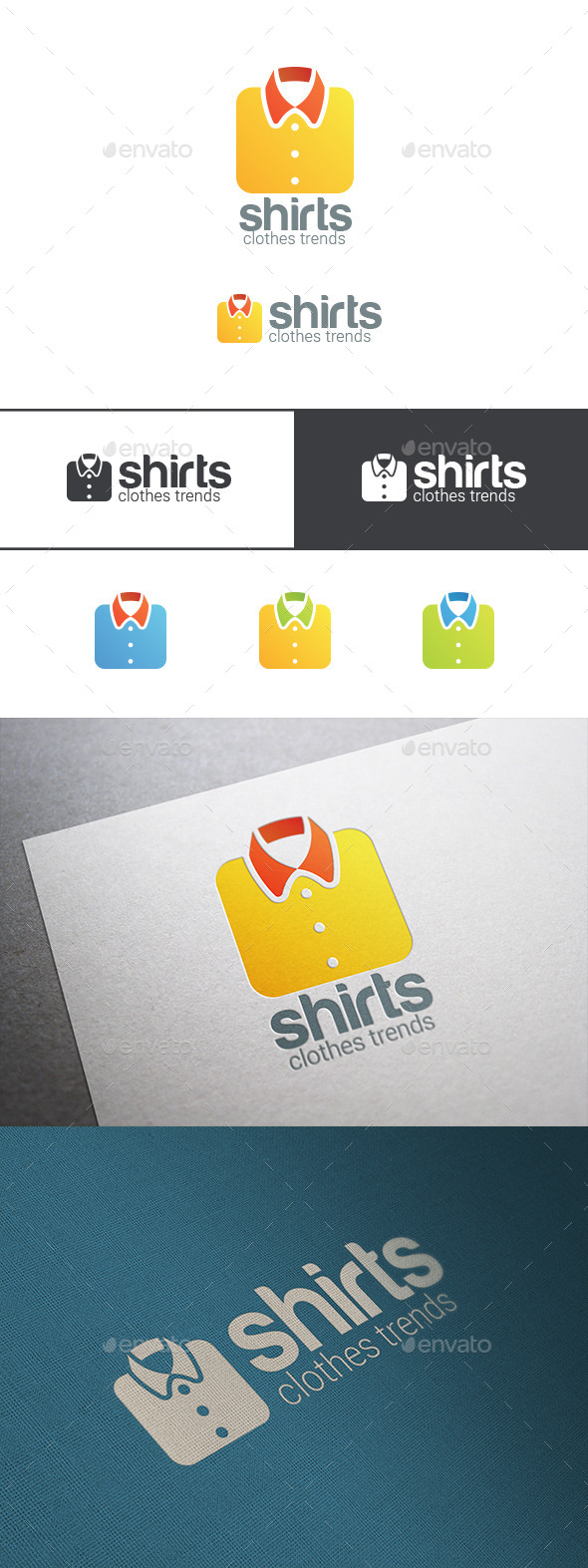 GraphicRiver Shirt Logo Clothes Shop 9525001