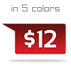 Tabbed Tag Icons - GraphicRiver Item for Sale