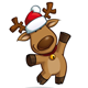 Christmas Elks - GraphicRiver Item for Sale