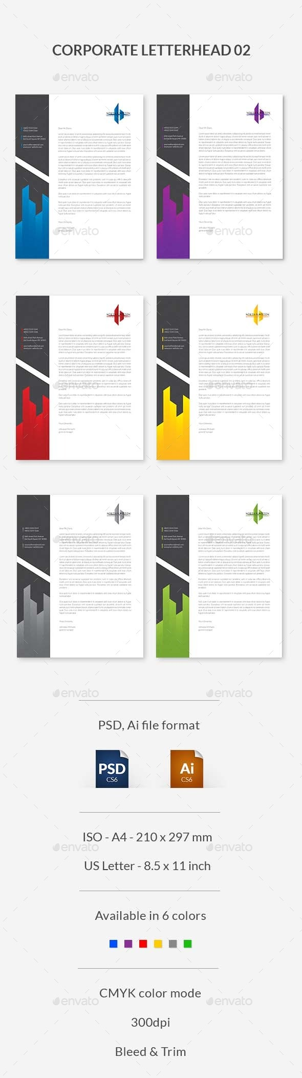 GraphicRiver Corporate Letterhead 02 9525359