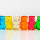 Fruit flavored gummy bears in assorted colors - PhotoDune Item for Sale