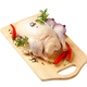 Raw duck and other ingredients on cutting board - PhotoDune Item for Sale