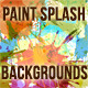 Paint Splash Backgrounds - GraphicRiver Item for Sale