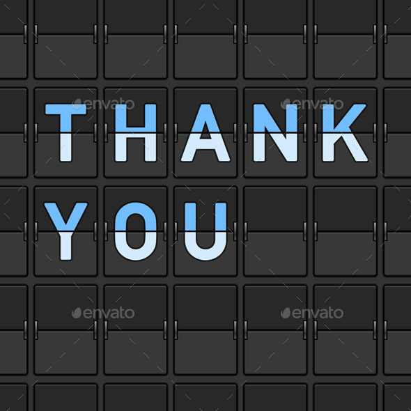 GraphicRiver Thank You Flip Board 9525489
