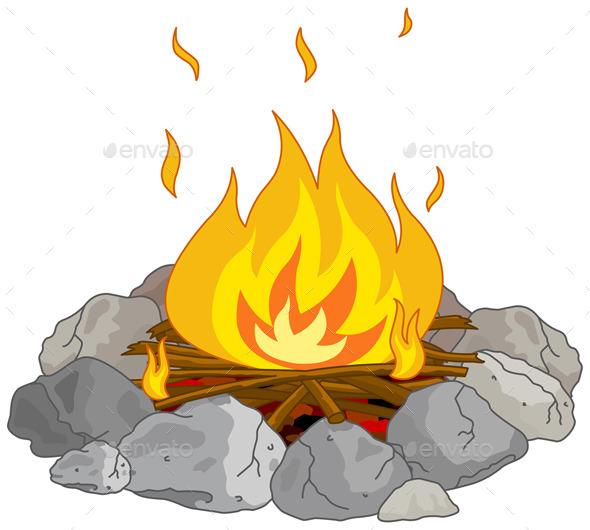 GraphicRiver Campfire 9525578
