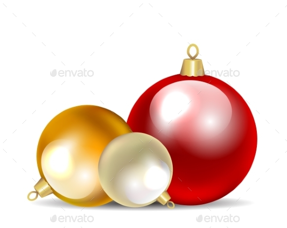 GraphicRiver Christmas Baubles 9525626