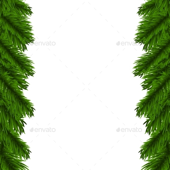GraphicRiver Christmas Garland 9525653