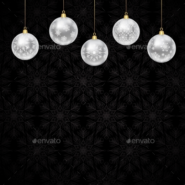 GraphicRiver Christmas Baubles 9525672
