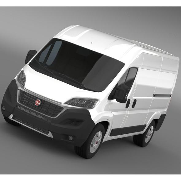 3DOcean Fiat Ducato Van L2H2 2014 9525698