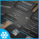 Modern Business Card Template No. 4 - GraphicRiver Item for Sale