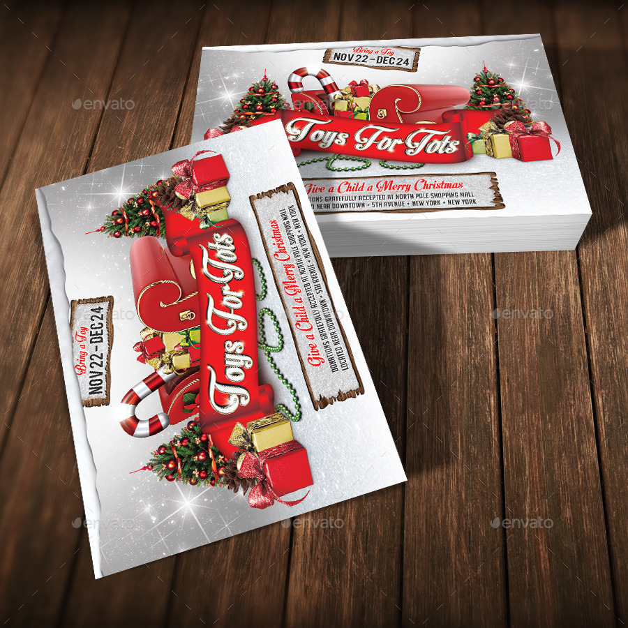 Toys For Tots Font : Toys for tots charity flyer v by viral legacy graphicriver