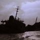 Shipwreck Silhouette Against a Gloomy Sky - PhotoDune Item for Sale