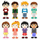 Different Kids Expressions - GraphicRiver Item for Sale