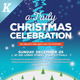 Alternative Christmas Event Flyer Vol.01 - GraphicRiver Item for Sale