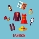 Flat Fashion Icons - GraphicRiver Item for Sale