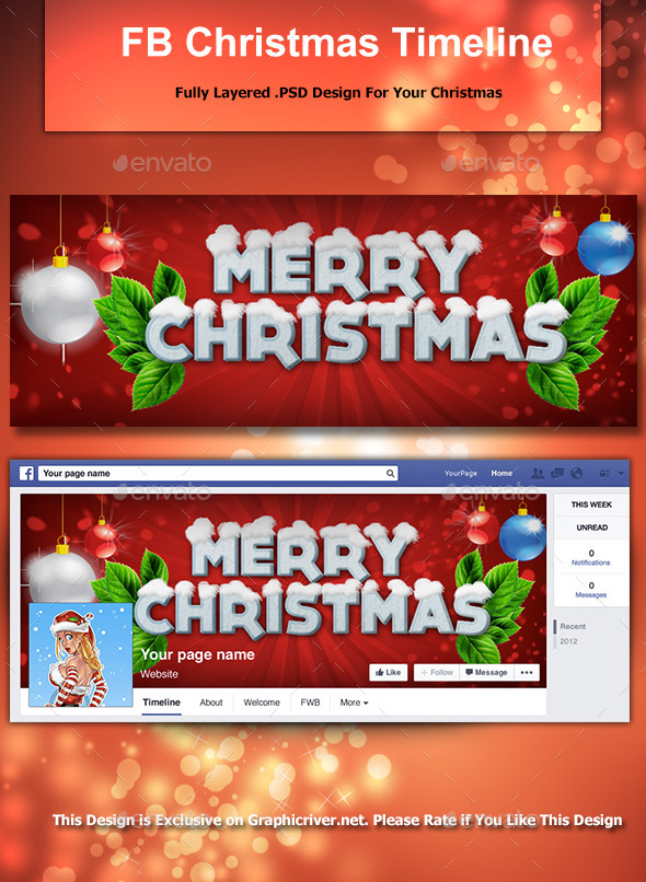 Fb Christmas Timeline Cover