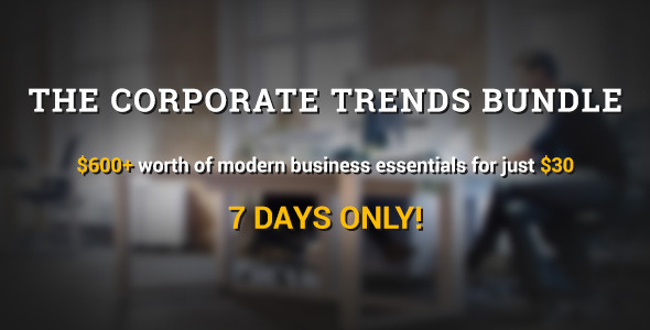 ThemeForest The Corporate Trends Bundle is here for 1 week only 9469687