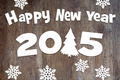 Happy New Year wooden background 2015 - PhotoDune Item for Sale