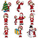 Girl with Christmas Stuff - GraphicRiver Item for Sale
