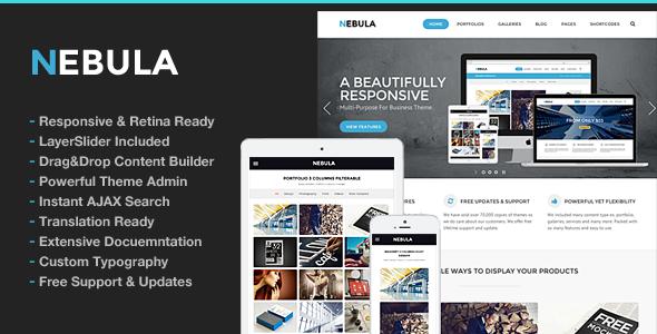Nebula Responsive Multi-Purpose Theme - Business Corporate