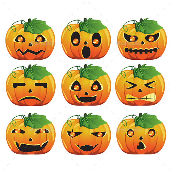 GraphicRiver Pumpkin Expression 9526994